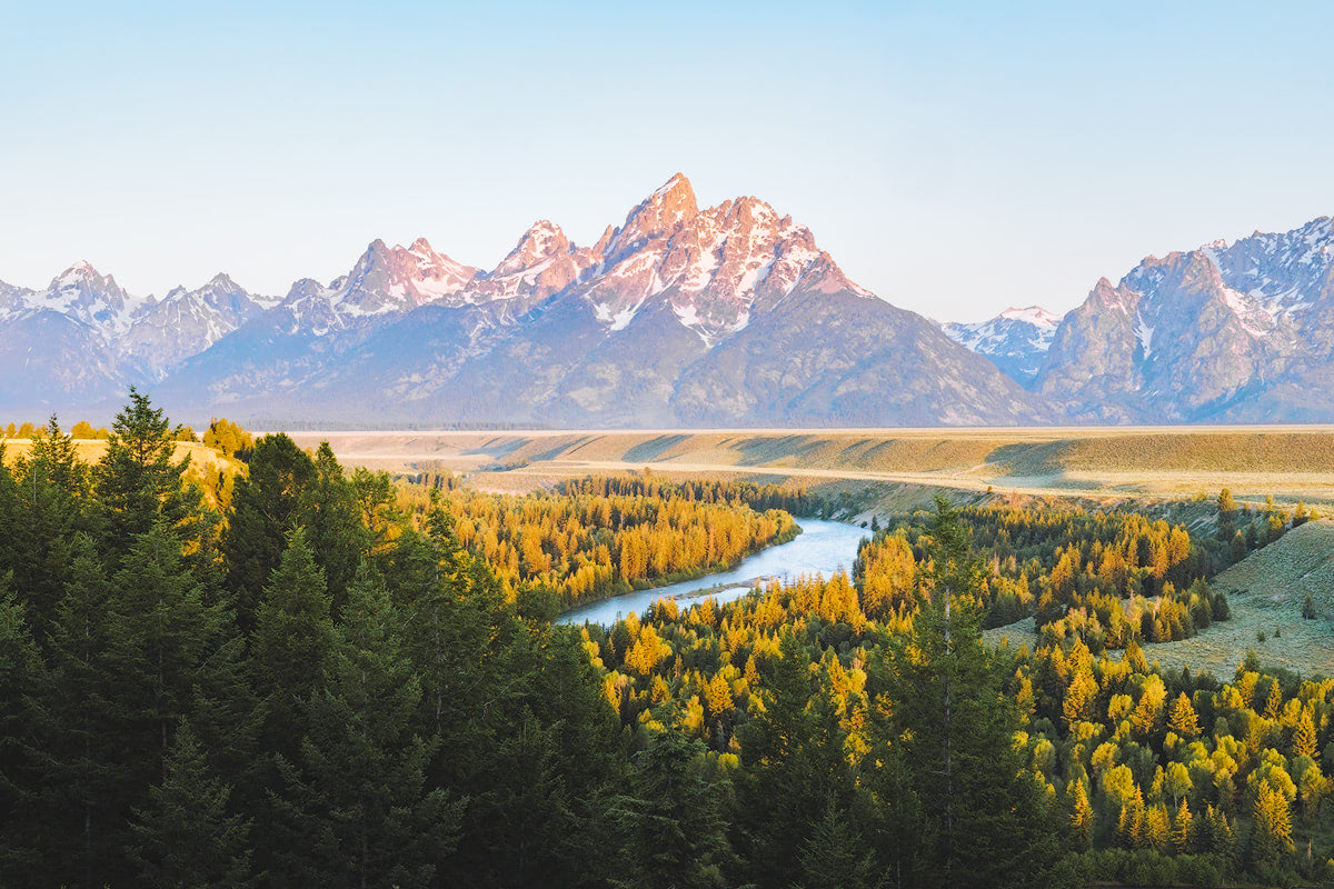The Ultimate Guide to Exploring Grand Teton National Park - Snake River Overlook
