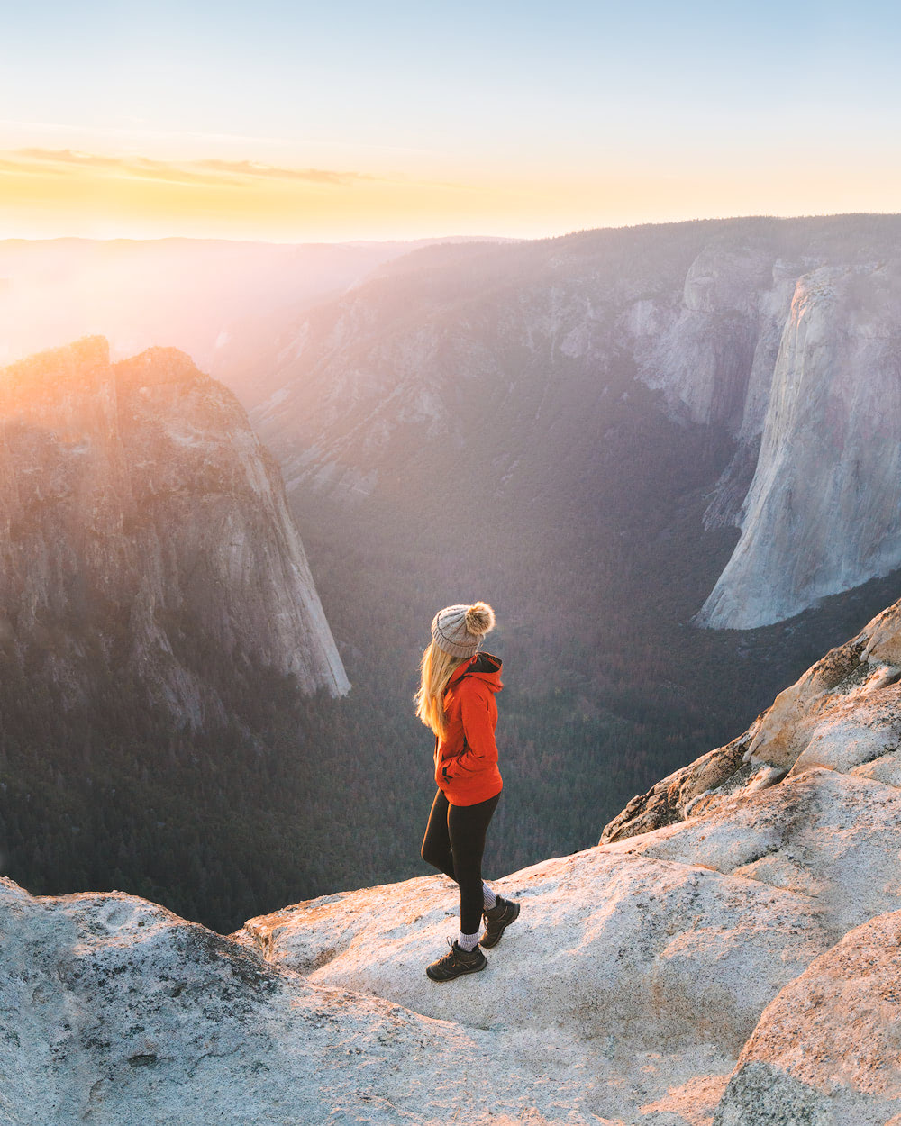 The Ultimate Guide to Exploring Yosemite National Park - Taft Point