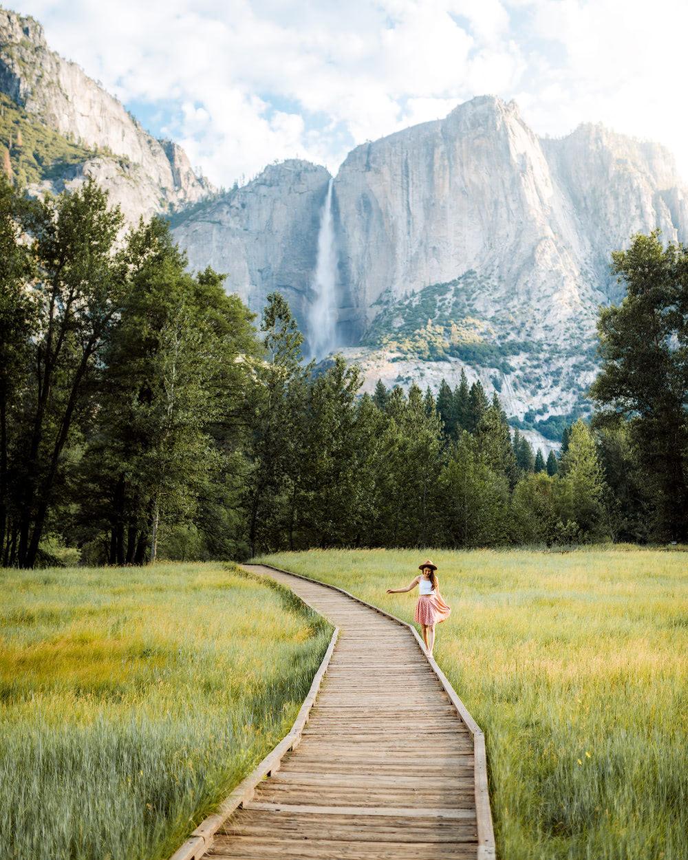 The Ultimate Guide to Exploring Yosemite National Park - Yosemite Valley Boardwalk