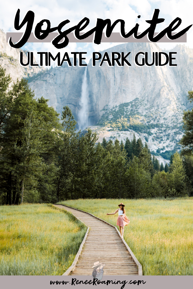 California's Yosemite National Park should be on every adventure lover's bucket list and in this guide you'll find everything you need to know to plan your own getaway! I'm sharing all the best hiking trails, the top photography spots, where you should stay, the peak season to visit, and much more! #Yosemite #YosemiteNationalPark #USA #NationalParks #RoadTrip
