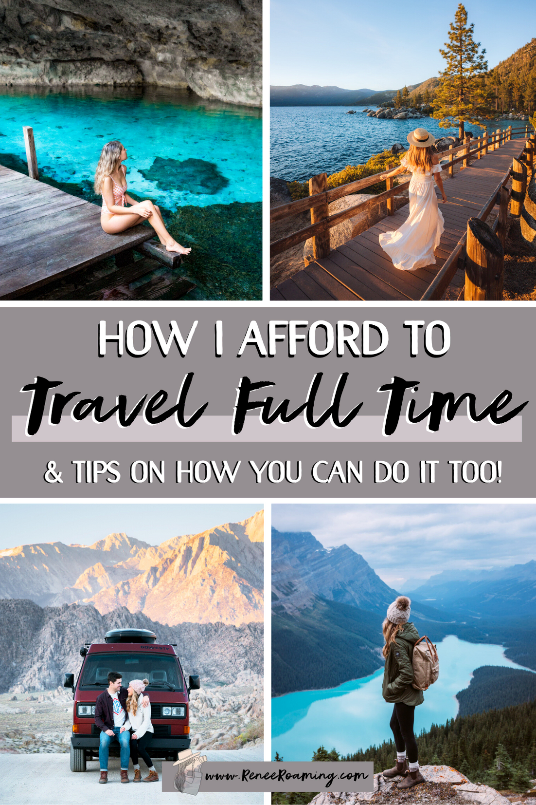 How To Travel Full Time - Must Know Tips for Affording to Travel