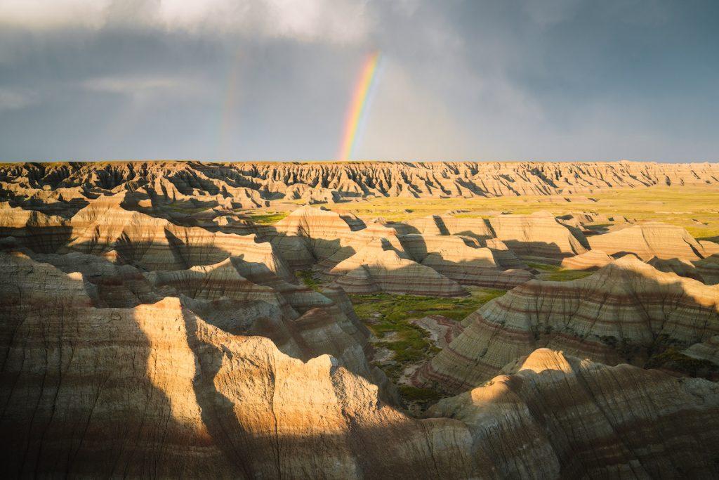 tips for planning a national parks trip - badlands national park