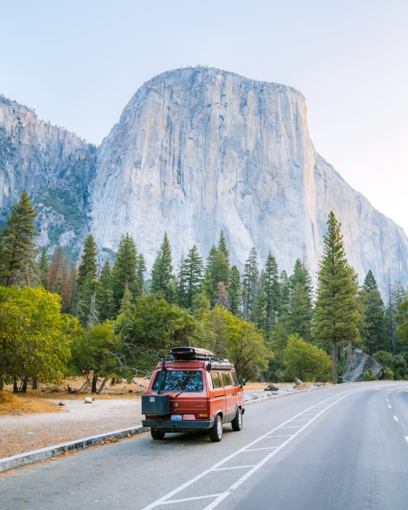 vanagon westfalia in yosemite