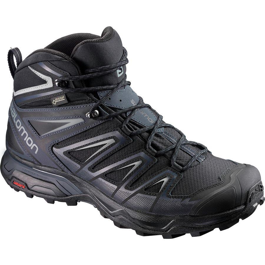 Best Hiking Boots for Men 2020 - Salomon X Ultra 3 Mid GTX Hiking Boot Renee Roaming