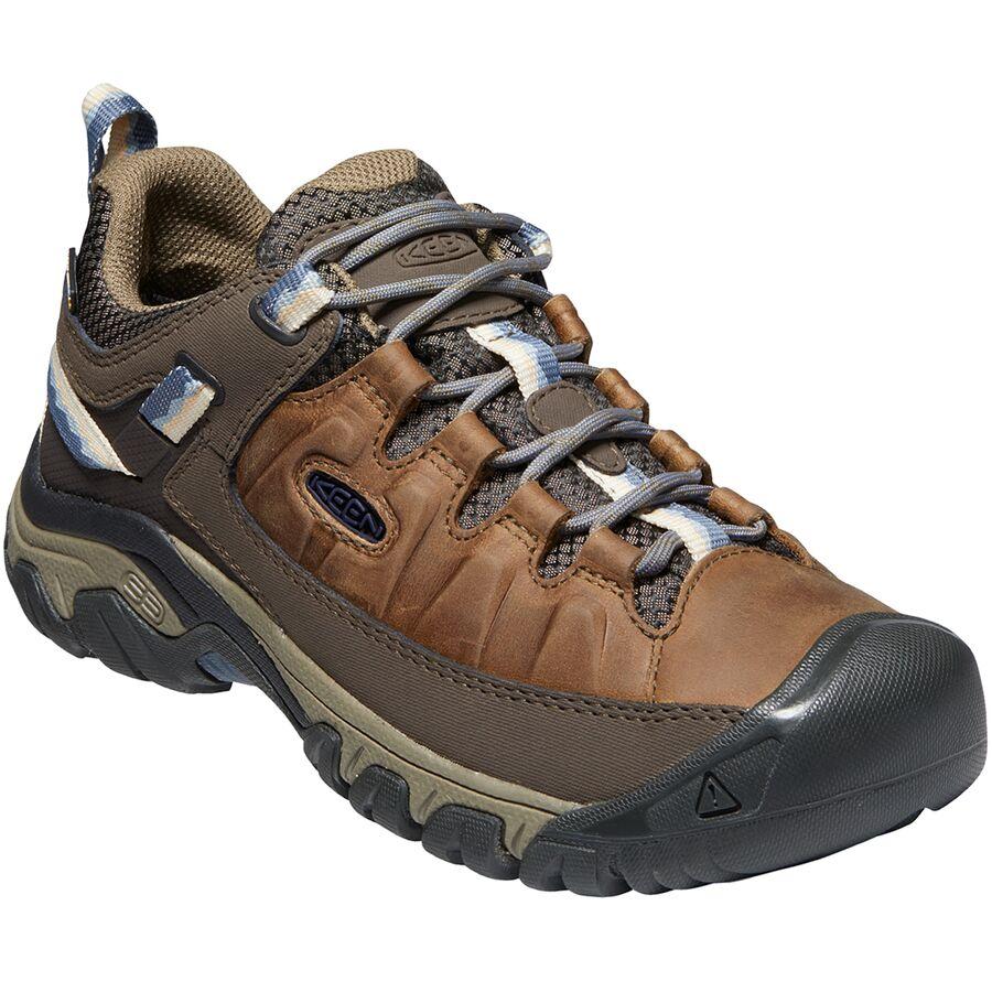 Best Low Profile Hiking Shoes for Women 2020 - KEEN Targhee III Waterproof Hiking Shoe - Renee Roaming