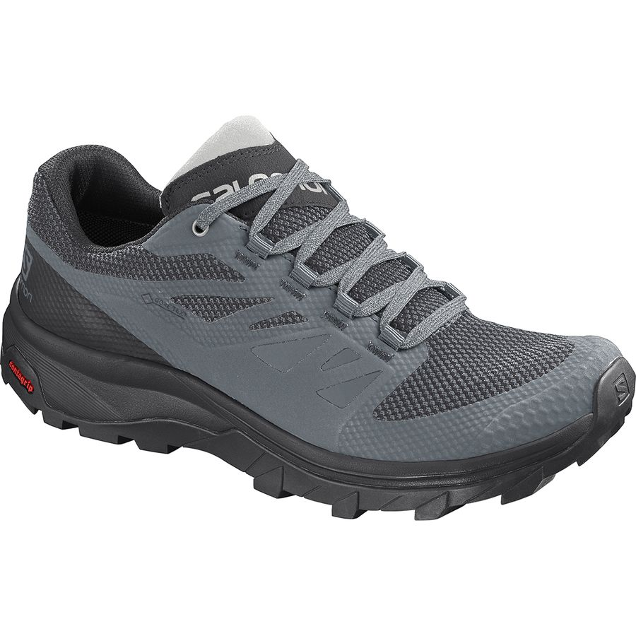 Best Low Profile Hiking Shoes for Women 2020 - Salomon Outline GTX Hiking Shoe - Renee Roaming