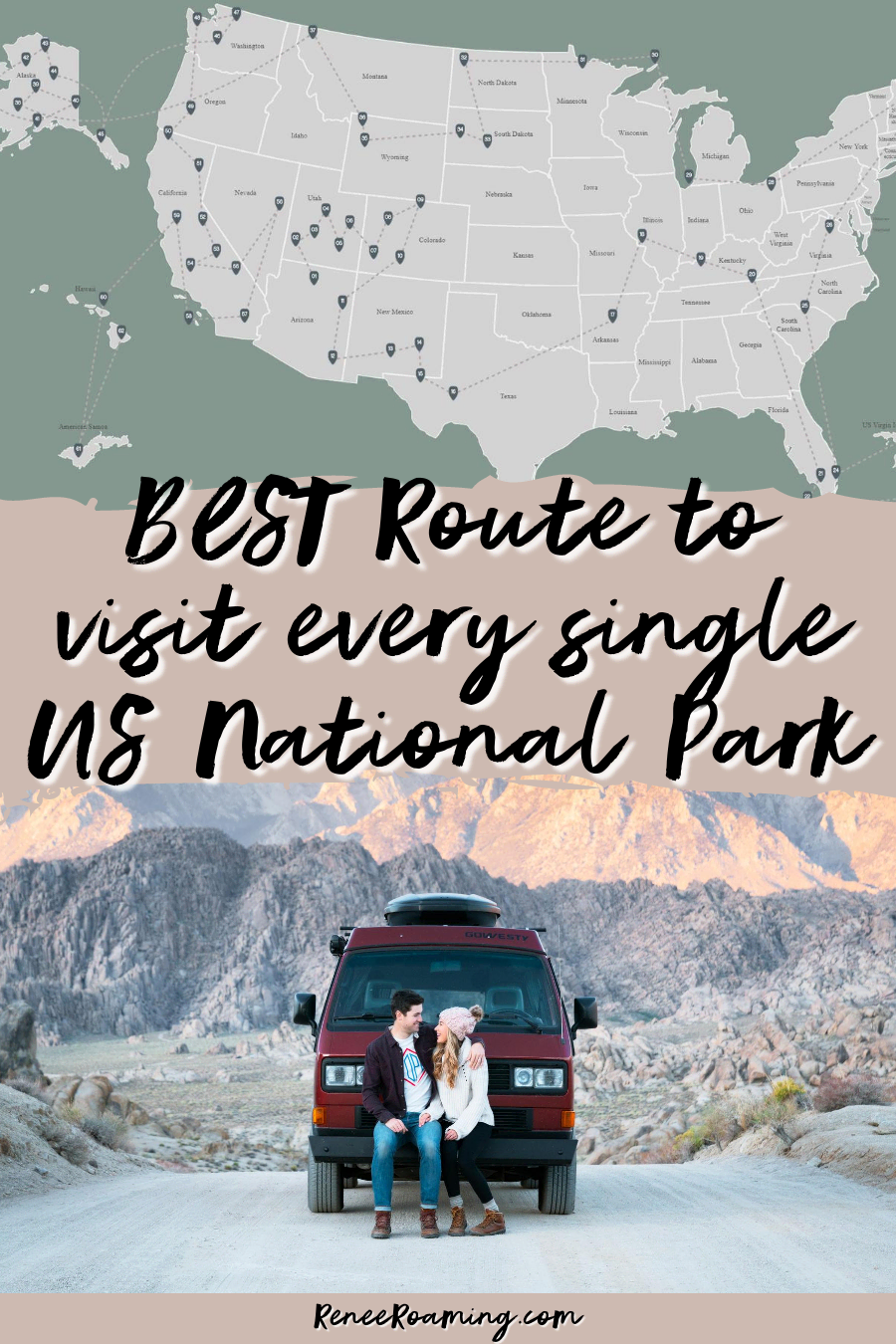 See Every US National Park on this EPIC Cross-Country Road Trip