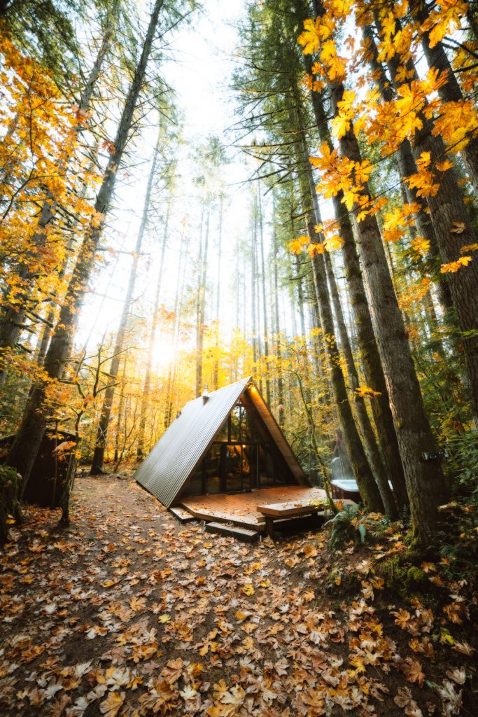 Cozy Cabins to Rent in Washington State - Sky Haus Cabin - Renee Roaming