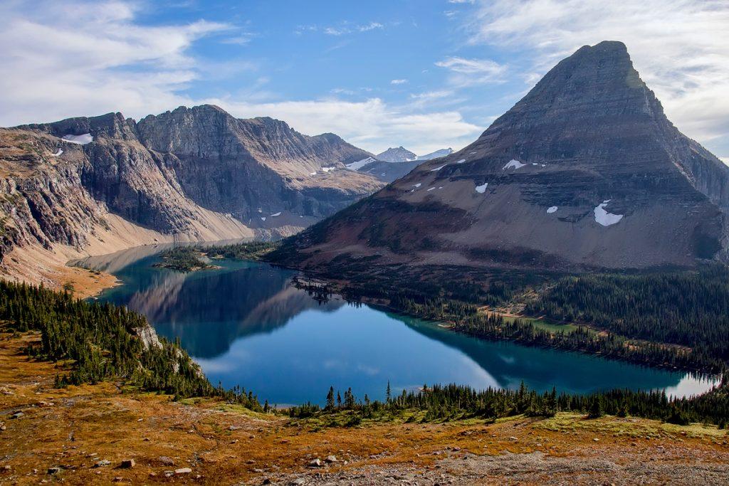 Glacier National Park Hidden Lake Overlook