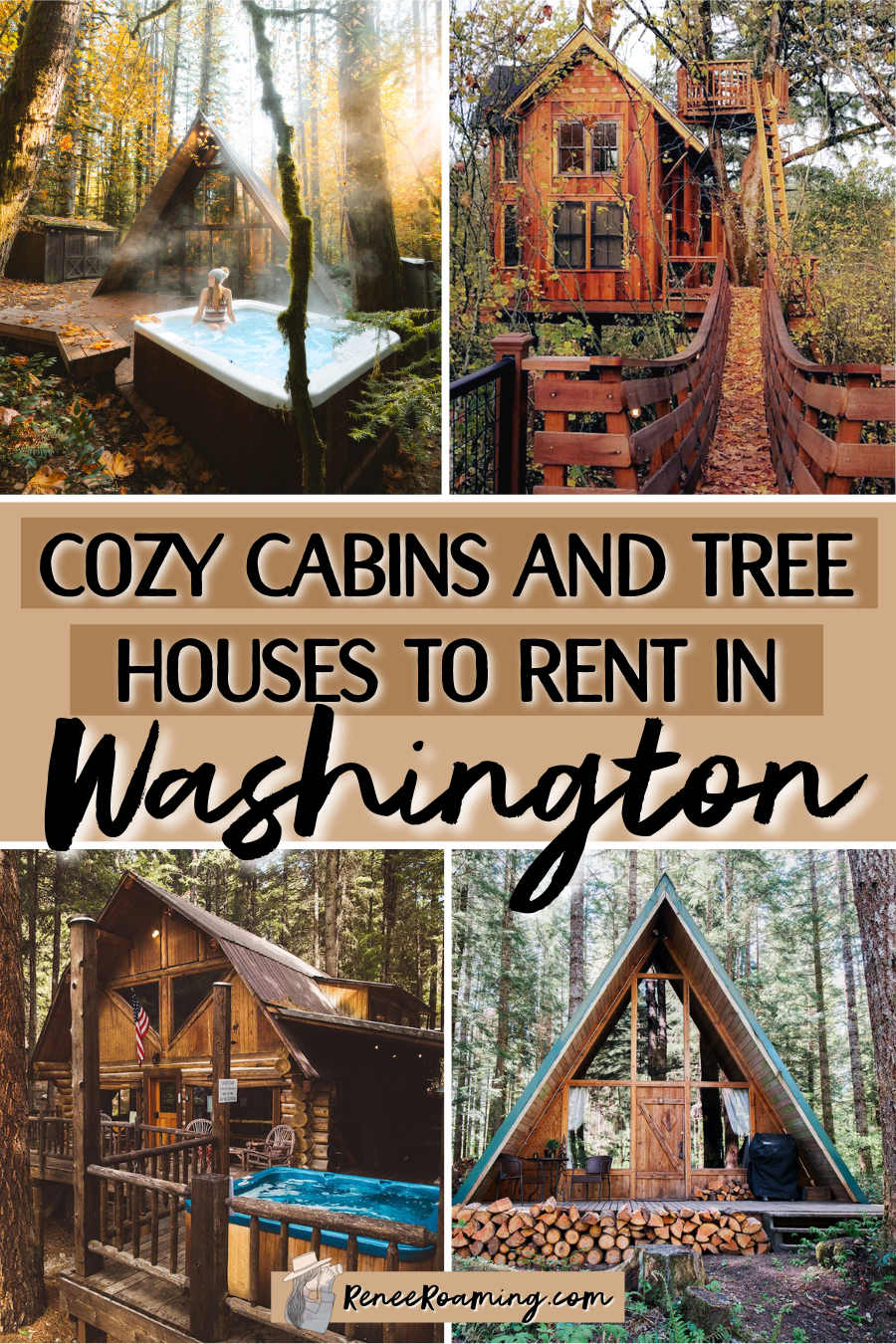 24 Cozy Cabins and Tree Houses to Rent in Washington State