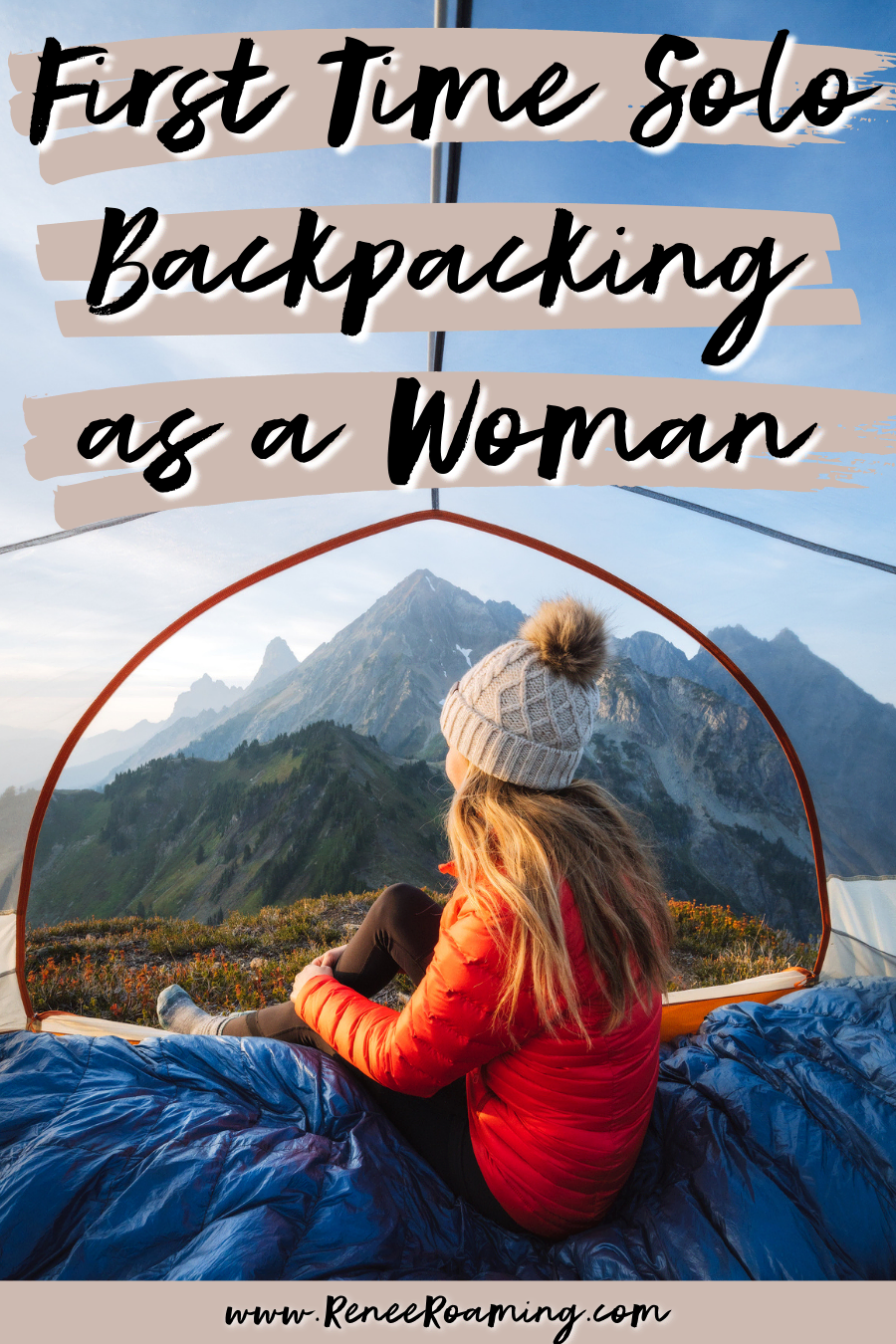 First Time Solo Backpacking as a Woman