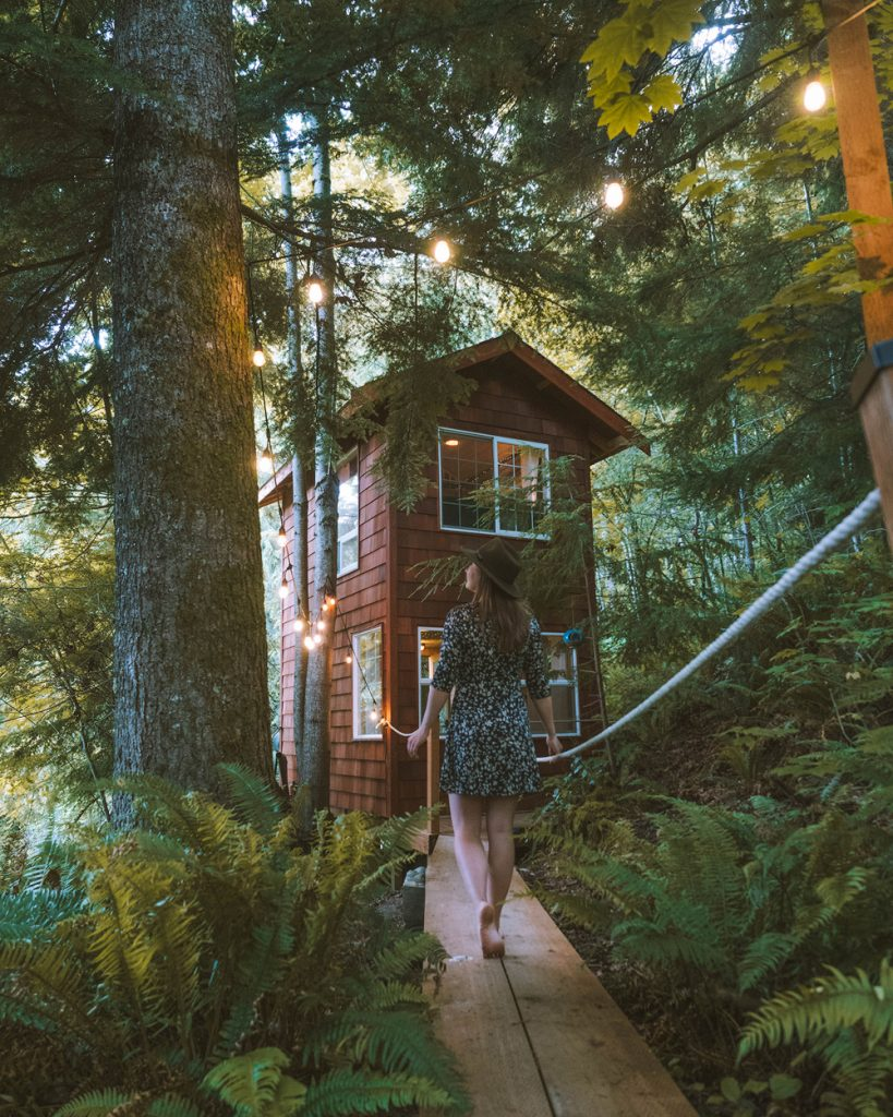 Treehouses to Rent in Washington State - Treehouse Place at Deer Ridge - Renee Roaming