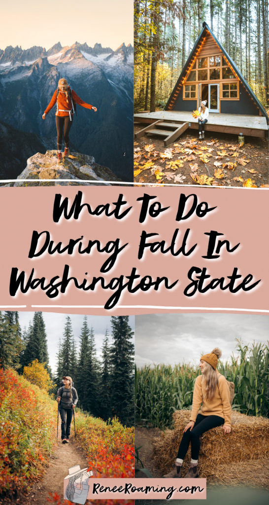 What To Do During Fall in Washington State - Renee Roaming