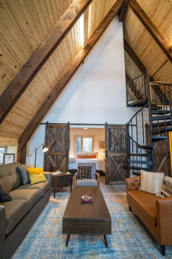 Where to stay near Kenai Fjords National Park - Ocean view A Frame Cabin
