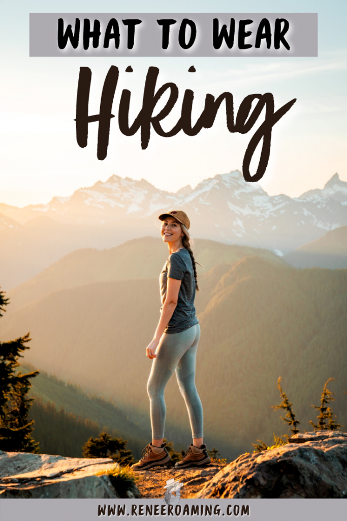Confused about what to wear hiking? Learn how to be comfortable, practical, and stylish with this guide on what to wear hiking as a woman! Hiking is one of the most rewarding outdoor activities and I want to help you get out there and hit the trails. One of the basics to planning a hiking adventure is knowing what clothing and shoes to wear. I'll be covering all of that PLUS sharing some cute hiking outfit inspiration! #hikingoutfit #cutehikingoutfit #hikinggirlinspiration