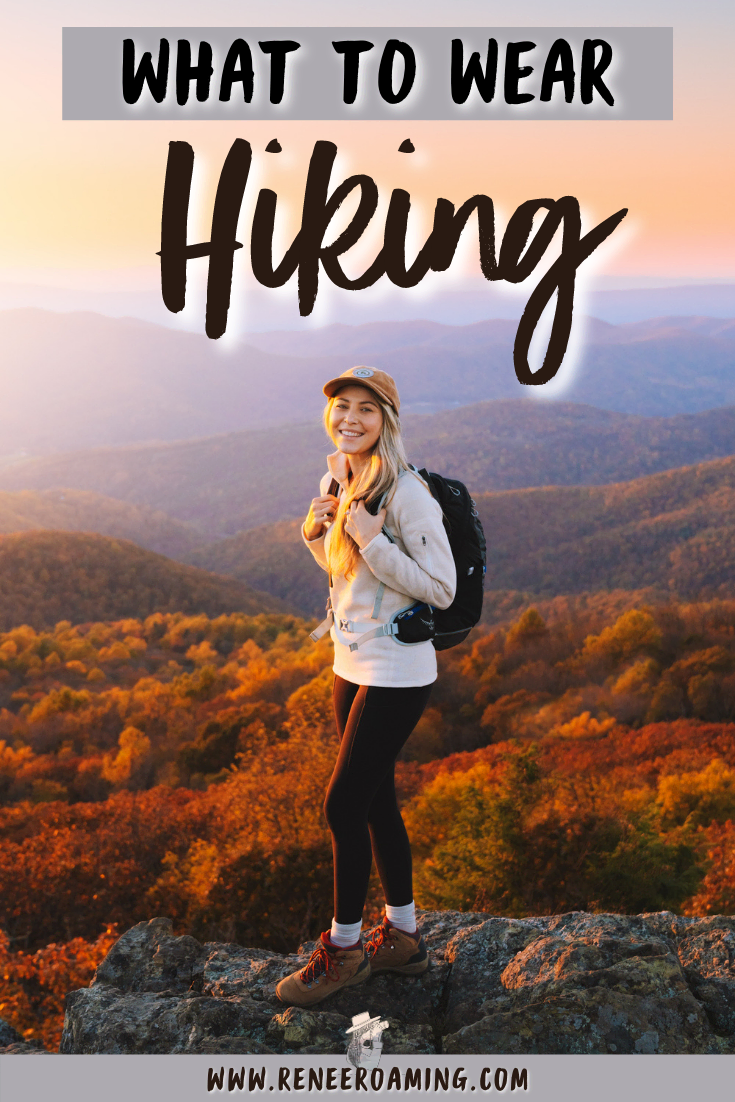 What To Wear Hiking As A Woman