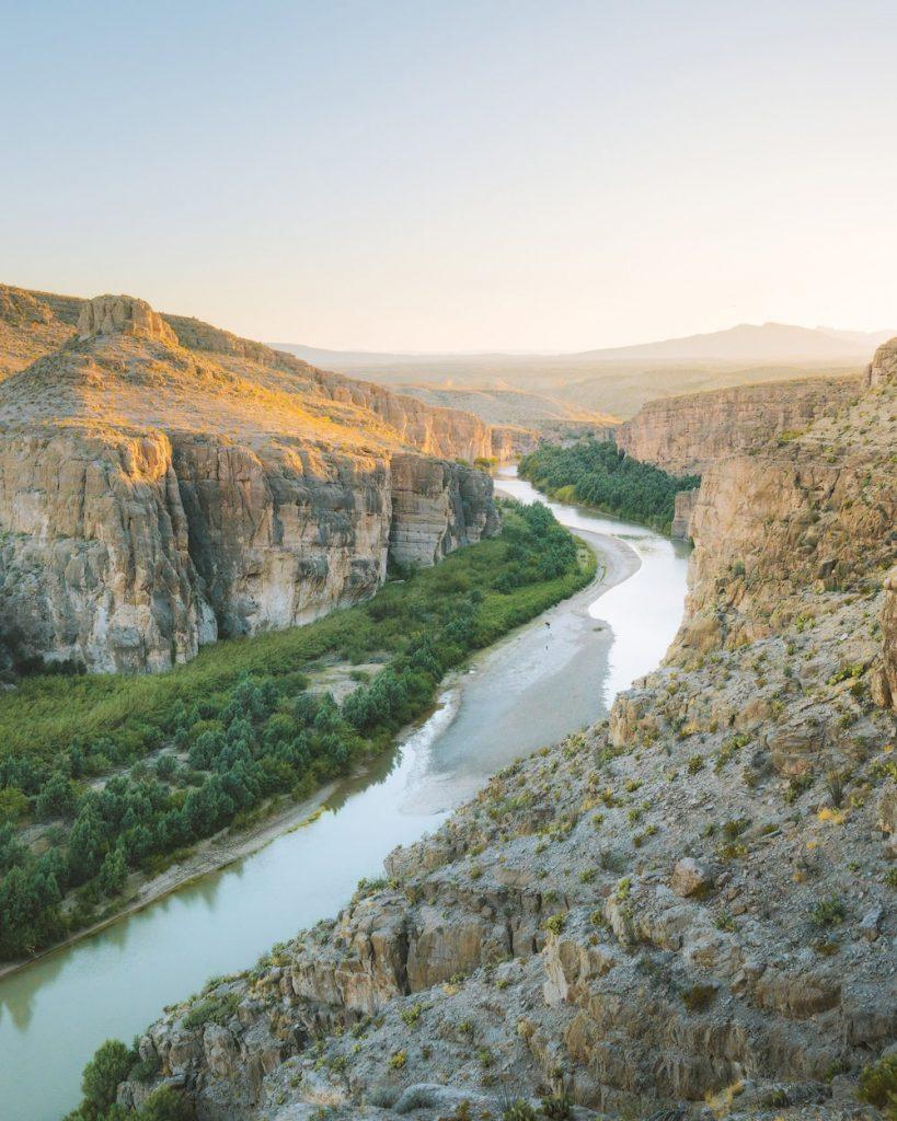 12 Best National Parks to Visit in Winter - Big Bend National Park Rio Grande