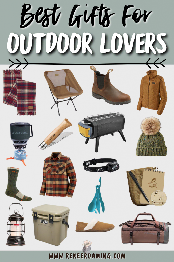 Best Gifts for Outdoor Lovers - Renee Roaming