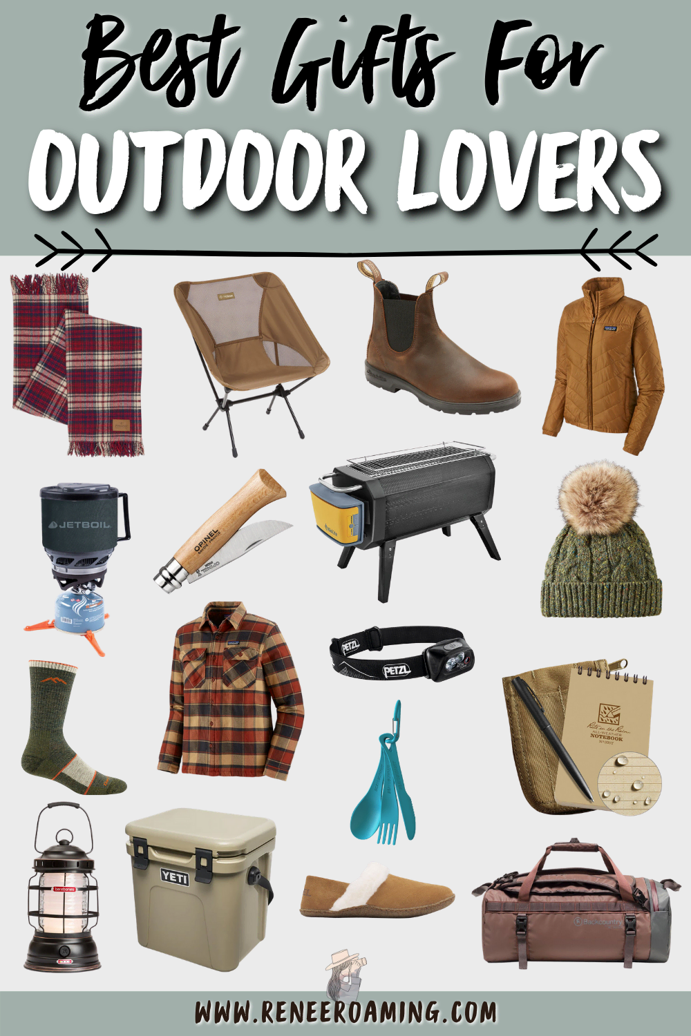 Best Gifts For Outdoor Lovers 2020 | Gifts for Hikers, Campers and Travelers