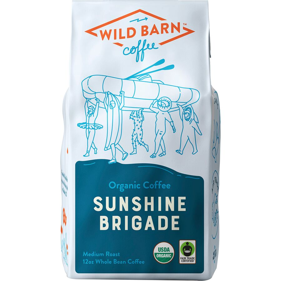 Outdoor Gifts Stocking Stuffers - Wild Barn Coffee Sunshine Brigade Coffee Blend