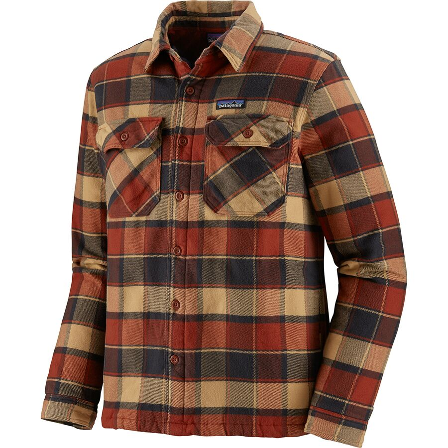 Outdoor Gifts for Men - Patagonia Insulated Fjord Flannel Jacket