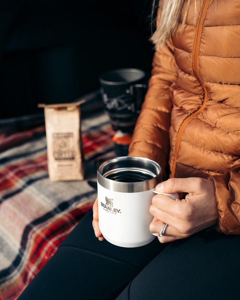 Camp Coffee Brew in Insulated Mug