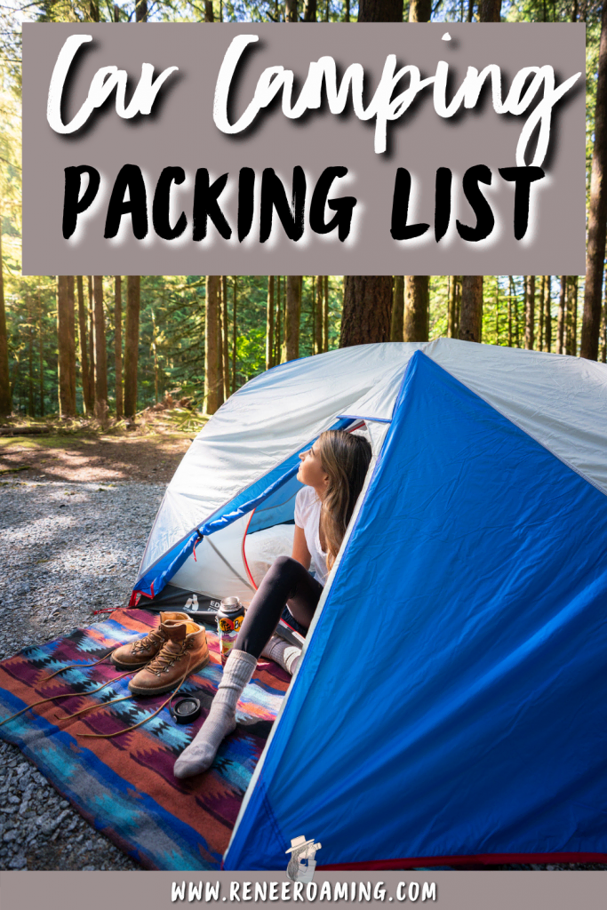 Car camping is such an amazing way to experience nature without having to work too hard for it. You can pack more luxury gear as opposed to backpacking, and you can just drive right up to your camping spot! When starting out car camping it can be a little confusing what to pack. In this guide, I am sharing a thorough car camping essentials list, including a printable checklist to make packing a breeze!   Car camping packing list   What to pack camping   #camping