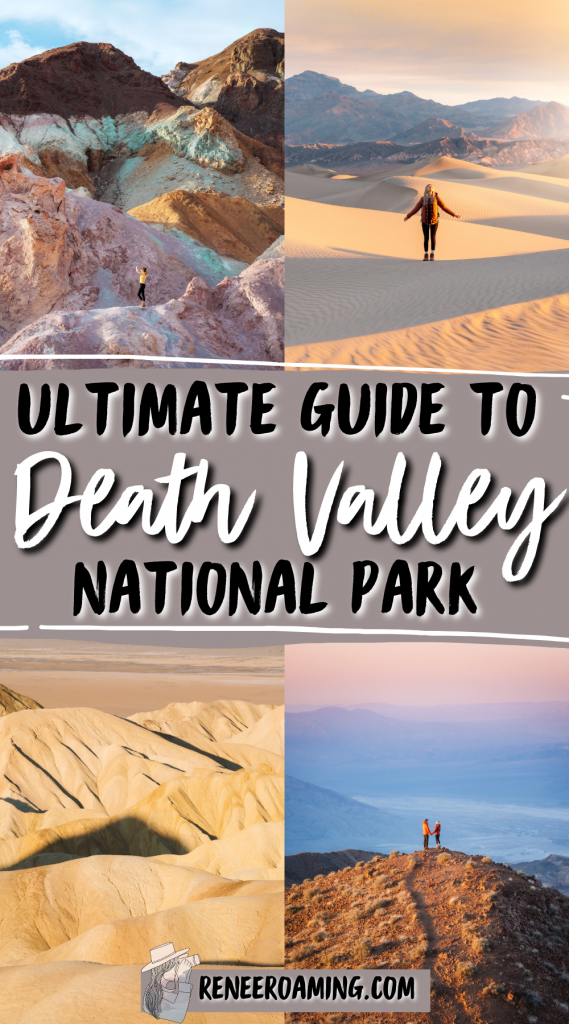 Death Valley is one of the most underrated national parks! Death Valley is famous for its rugged landscapes, extreme temperatures, and unique natural sights. It's known to be one of the hottest and driest places on earth and for many Death Valley has truly lived up to its name... but don't let that fool you! There is so much beauty within the park and it truly is a bucket list destination. In this blog post, I am going to share everything you need to know to plan your own visit!