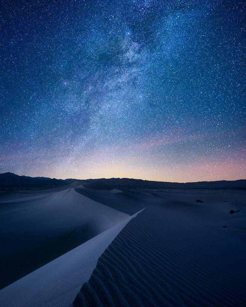 Ultimate Guide to Death Valley National Park - Stargazing in Death Valley