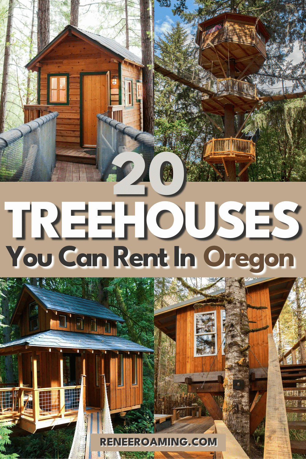 20 Magical Oregon Treehouses You Can Rent