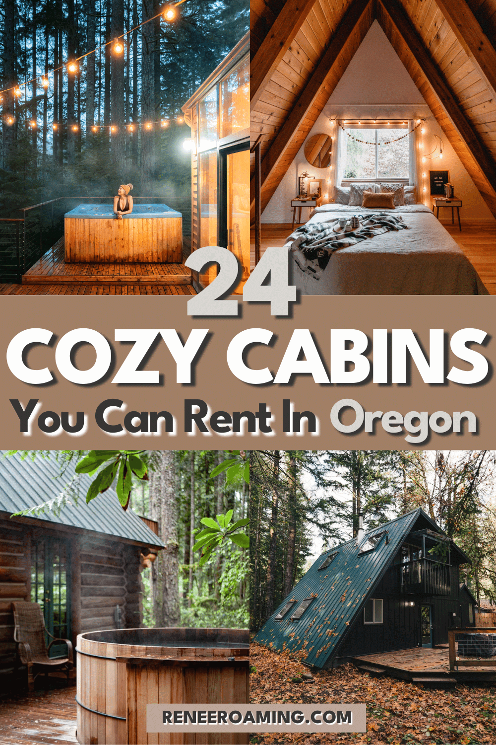 24 Dreamy Oregon Cabins You Can Rent