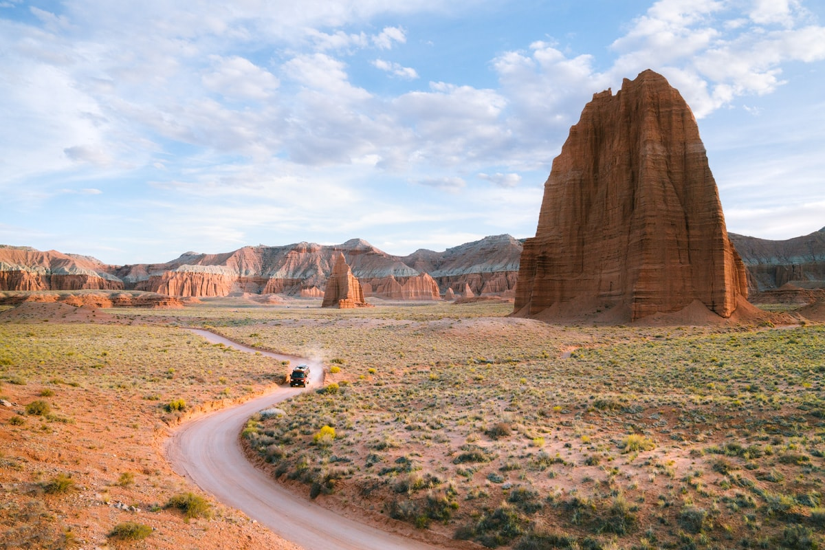 Best National Parks to Visit in Spring - Capitol Reef National Park - Cathedral Valley