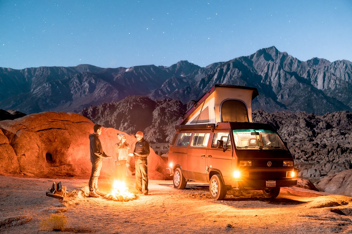 How To Find Free Campsites Across The USA - Dispersed Camping In a Van
