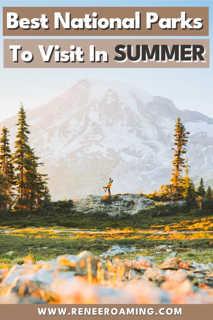There are a lot of national parks though, so when planning a summer vacation it can be a little overwhelming to choose which ones to explore. I've made it easy for you by putting together this guide on the 11 best national parks to visit in summer! For each park, you will find helpful planning information and insider tips on the top things to do. #nationalparks #roadtrip #usatravel #summertravel