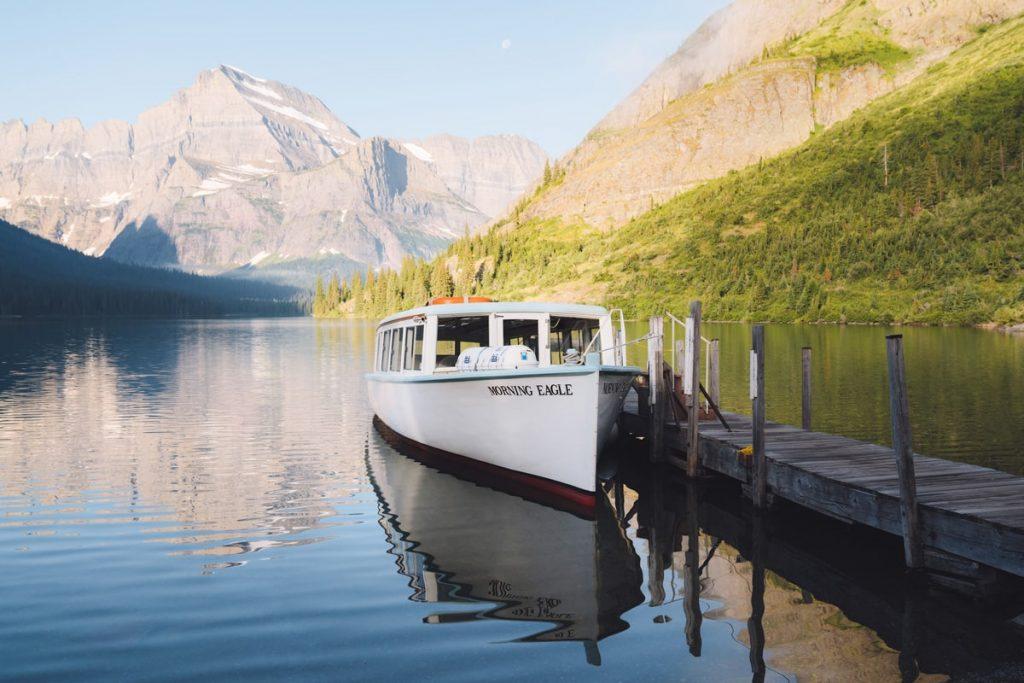 Best National Parks to Visit in Summer - Glacier National Park Boat Tour