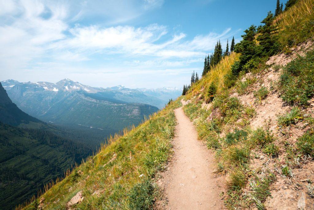 Best National Parks to Visit in Summer - Glacier National Park Hiking Trail