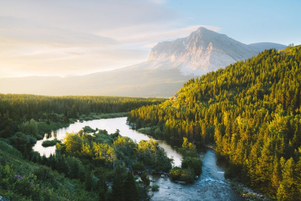 Best National Parks to Visit in Summer - Glacier National Park Roadside Views