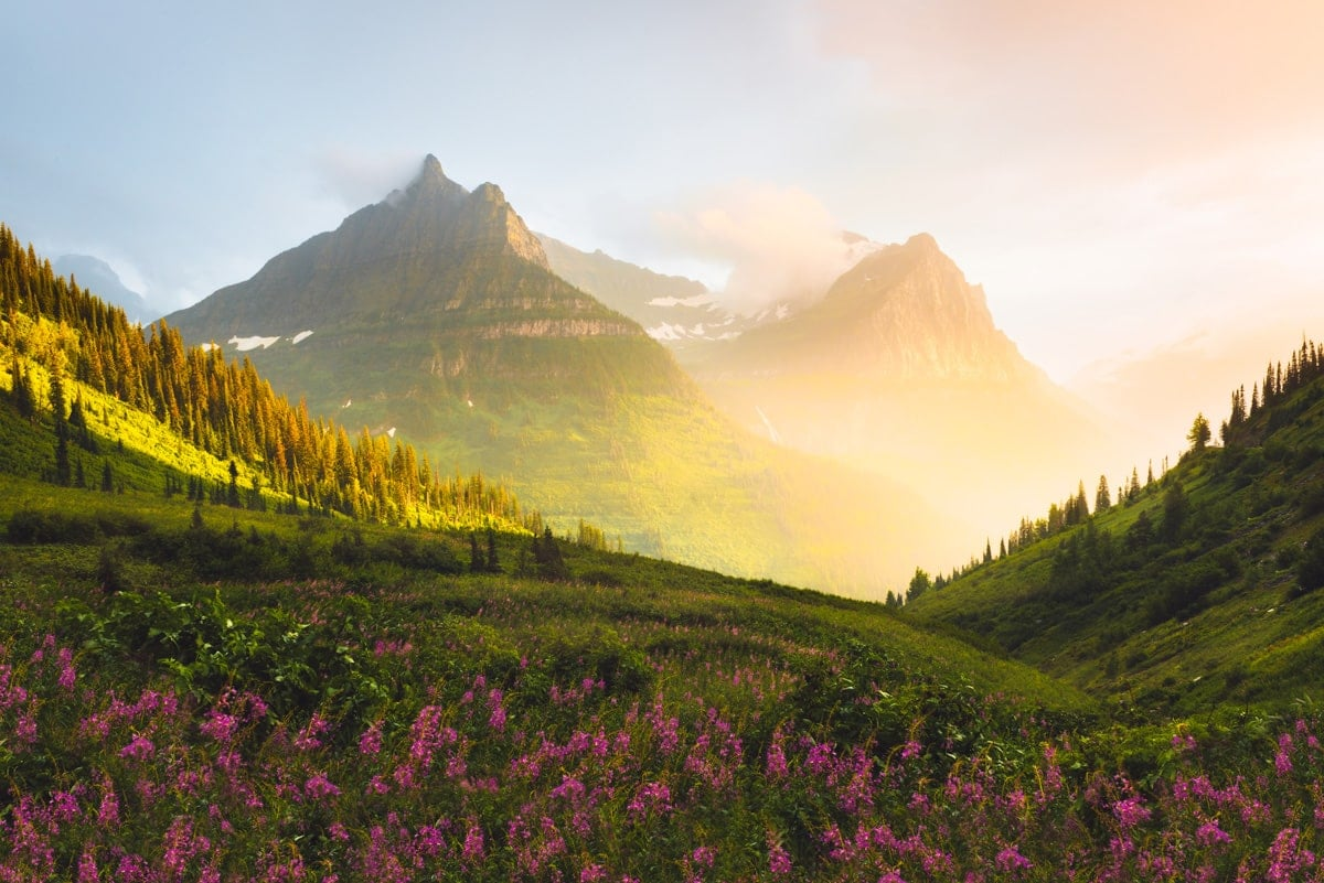 Best National Parks to Visit in Summer - Glacier National Park