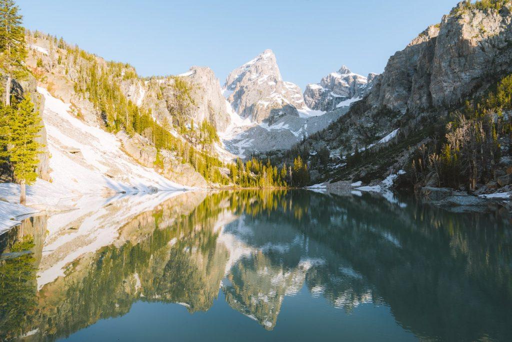 Best National Parks to Visit in Summer - Grand Teton National Park Delta Lake