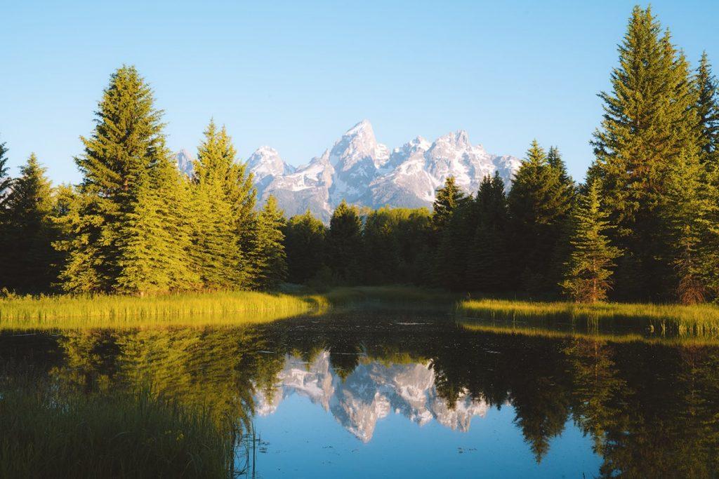 Best National Parks to Visit in Summer - Grand Teton National Park Schwabacher Landing