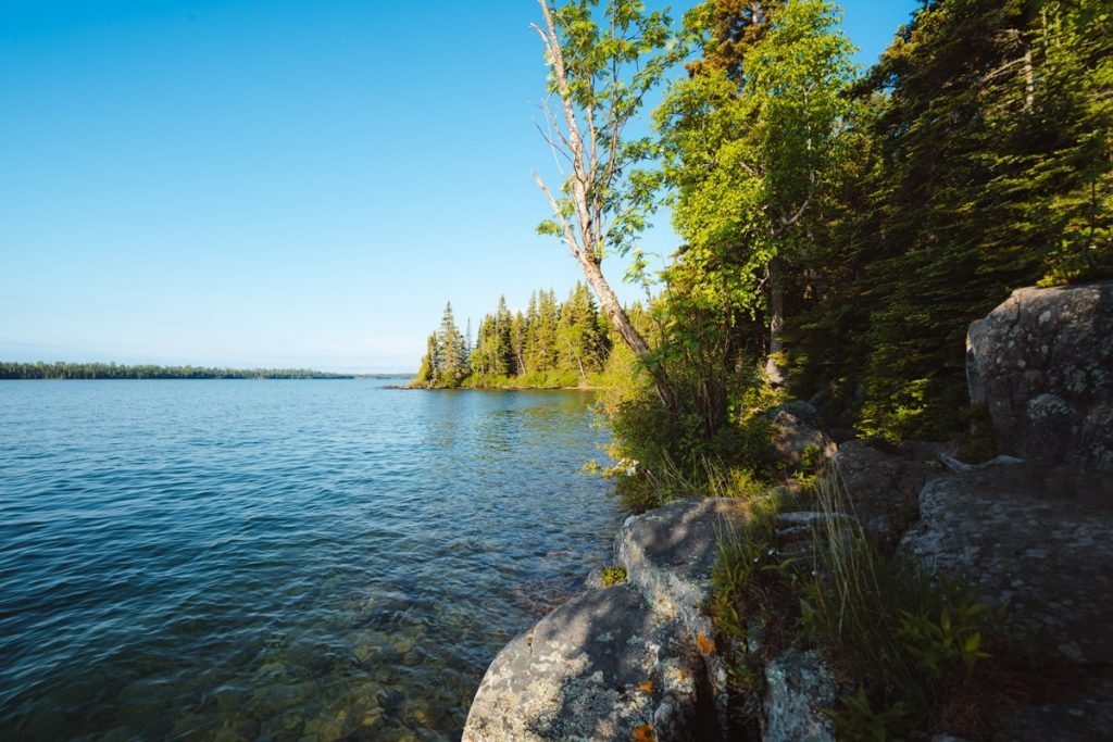 Best National Parks to Visit in Summer - Isle Royale National Park Go Fishing