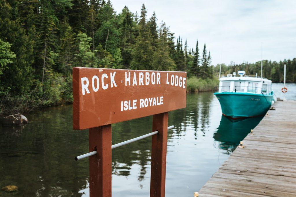 Best National Parks to Visit in Summer - Isle Royale National Park Rock Harbor