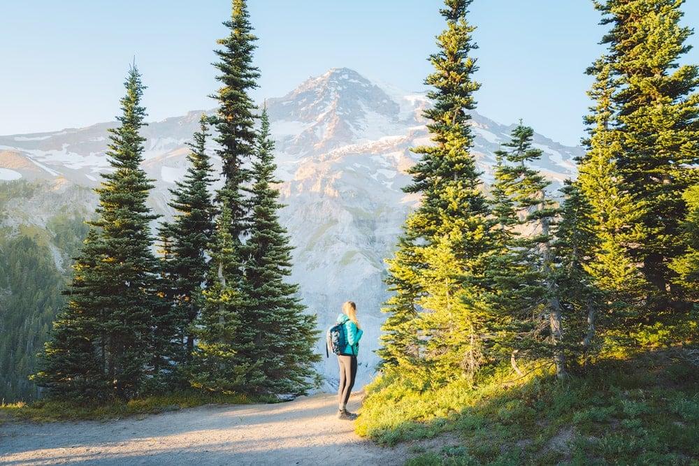 Best National Parks to Visit in Summer - Mount Rainier National Park Hiking