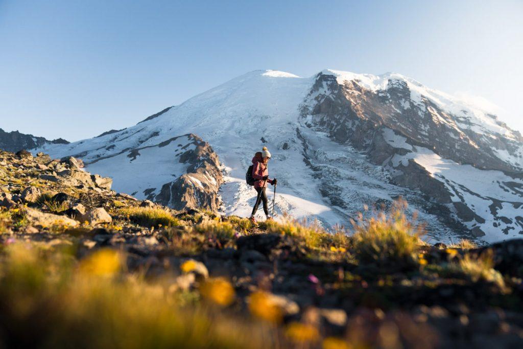 Mount Rainier Sunrise Hiking