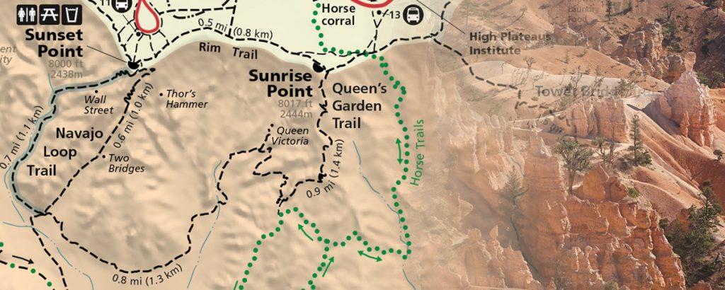 Queens Garden and Navajo Loop Trail