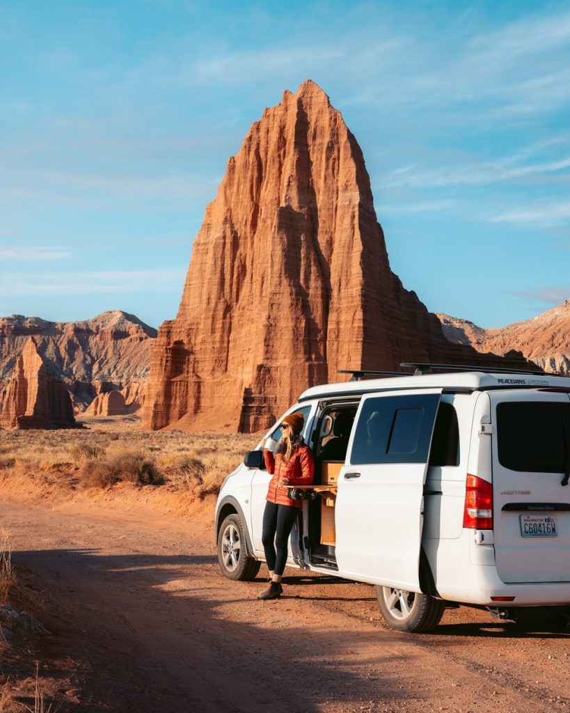 Cathedral Valley Camper Van