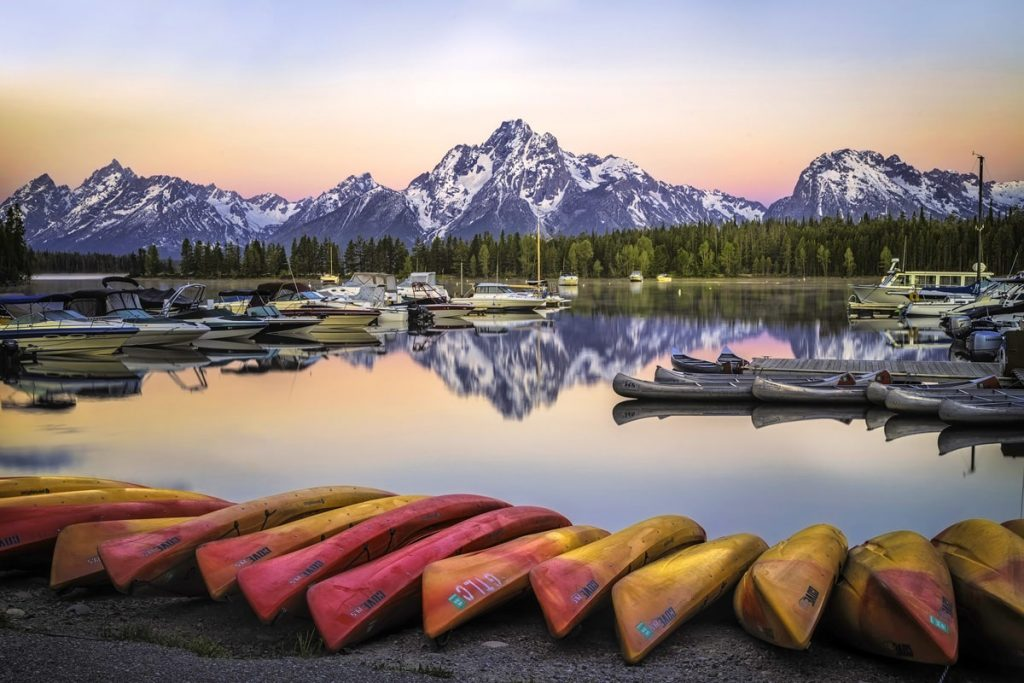 Ultimate Yellowstone National Park Guide and Itinerary - Colter Bay
