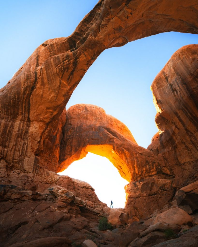 Utah National Parks Road Trip - Arches National Park Double Arch