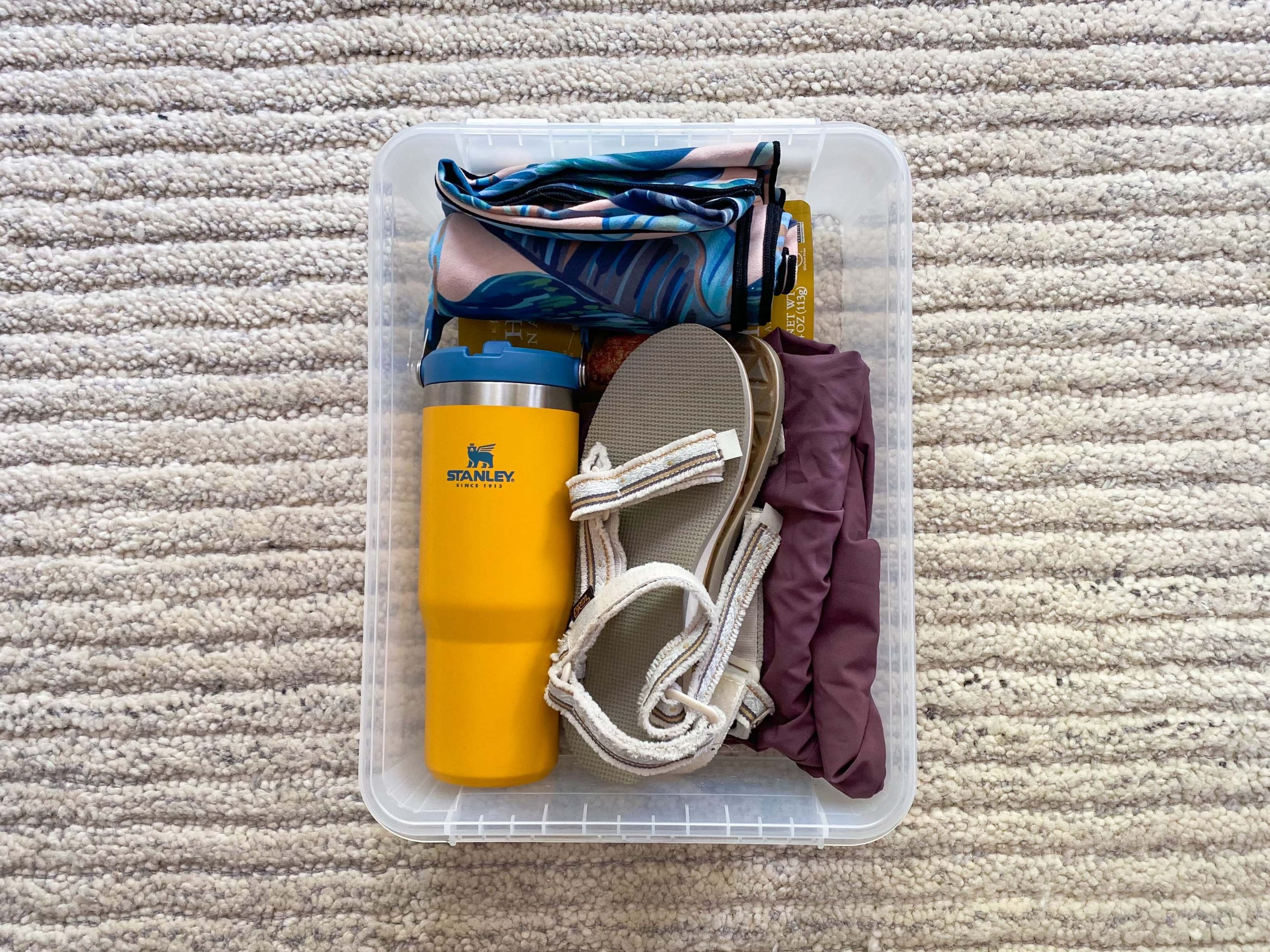 How To Prepare for Hiking and Backpacking Trips - Post Hike Kit