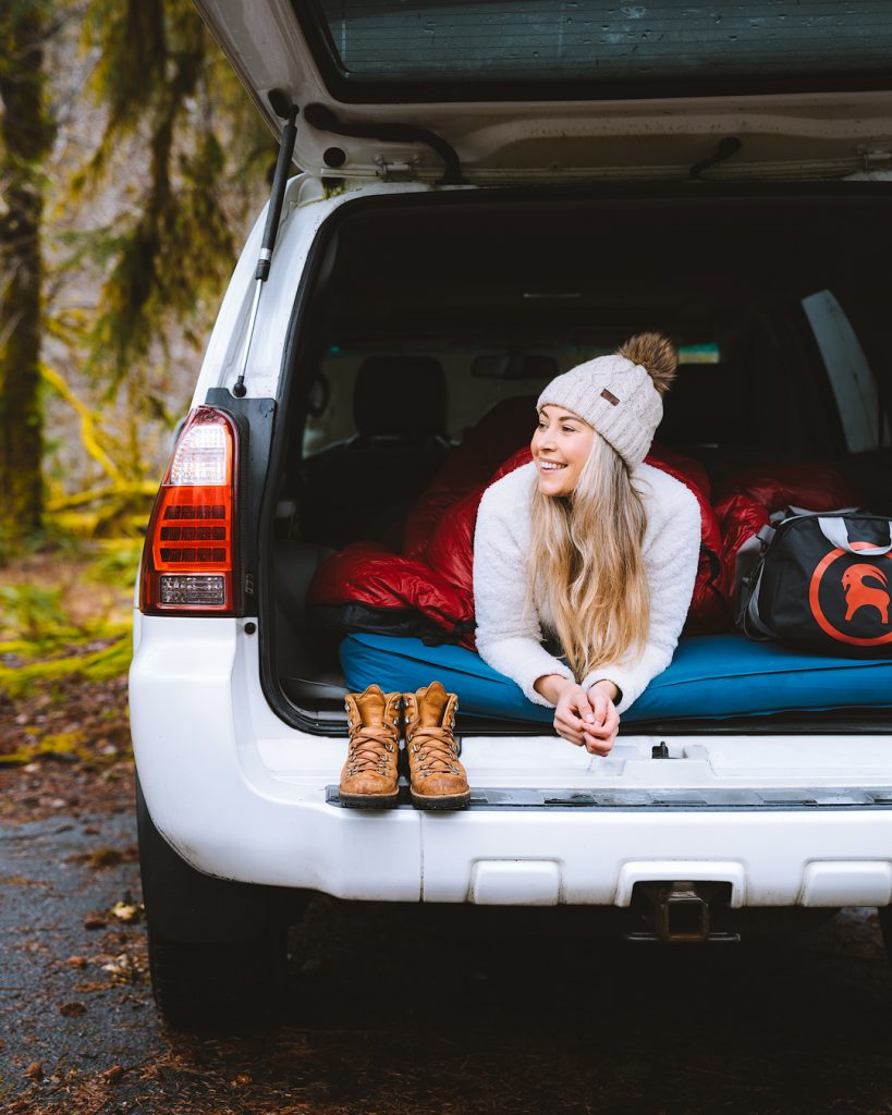 Camping Trip Comfort Items